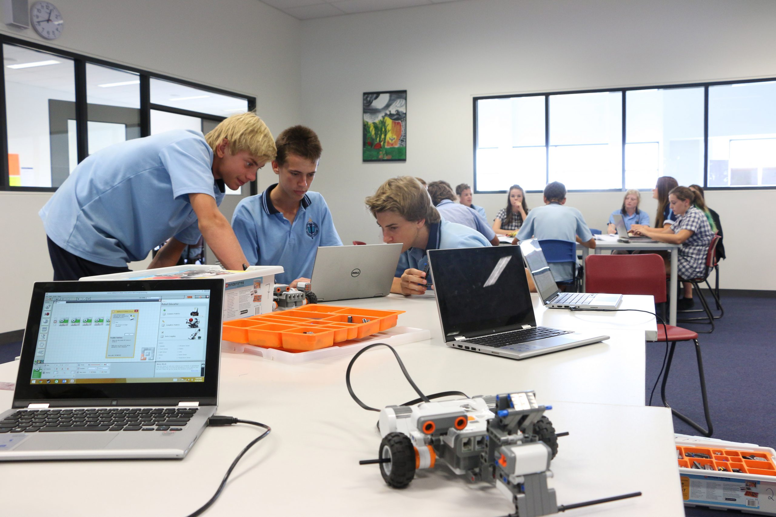 Robotics and Internet of Things