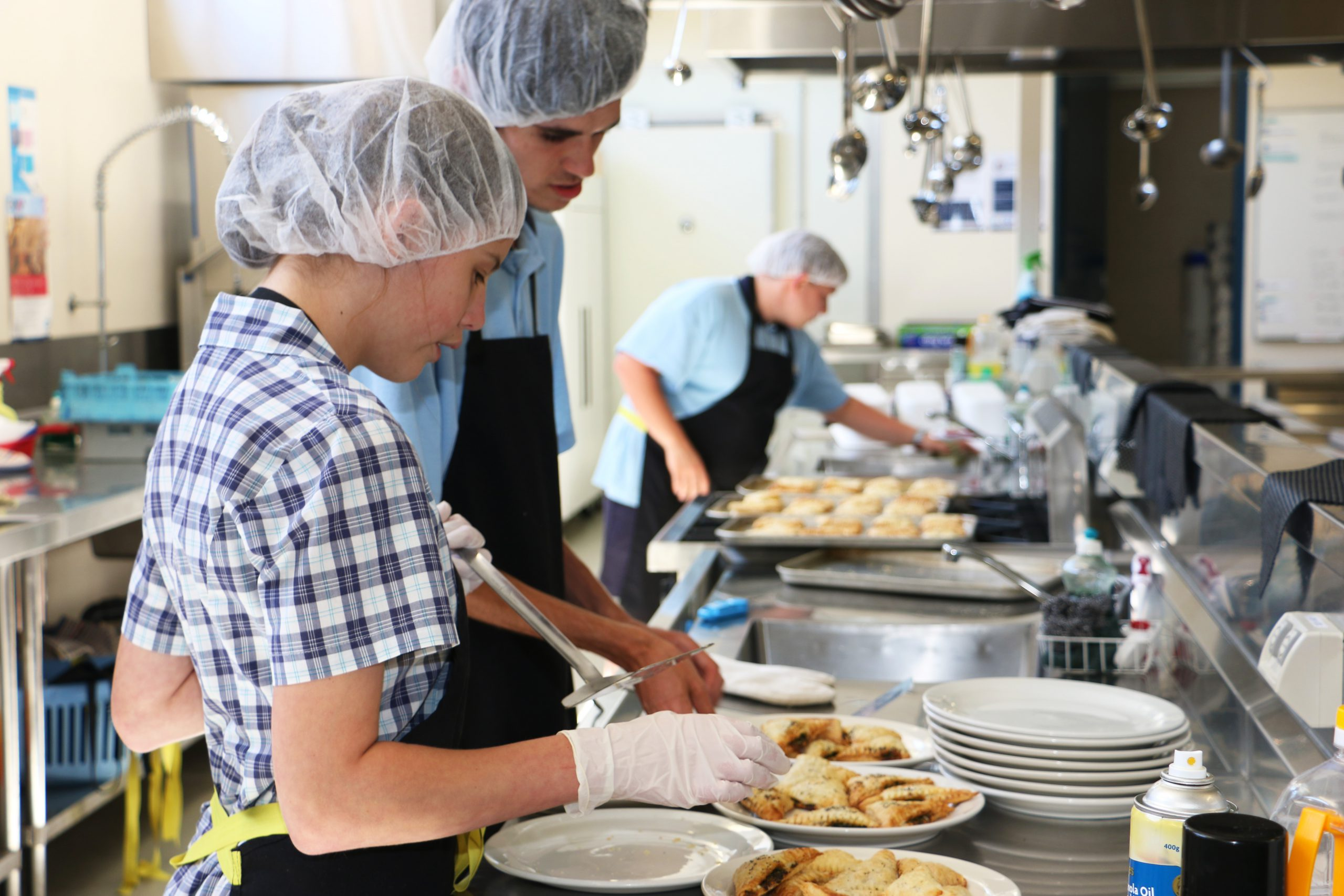 Hospitality 3 & 4 (Commercial Cookery)